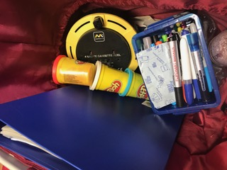 What's inside your teaching bag?